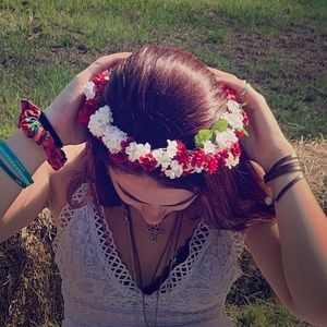 (Artificial) flower crown
